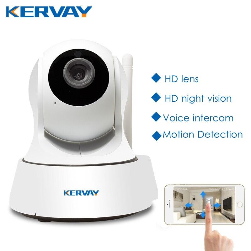 720 P HD Wi-fi Câmera de Rede Noite Câmera de Vigilância Home Indoor P2P CCTV Camera Wifi Função Onvif Câmera Com Dois-way Áudio