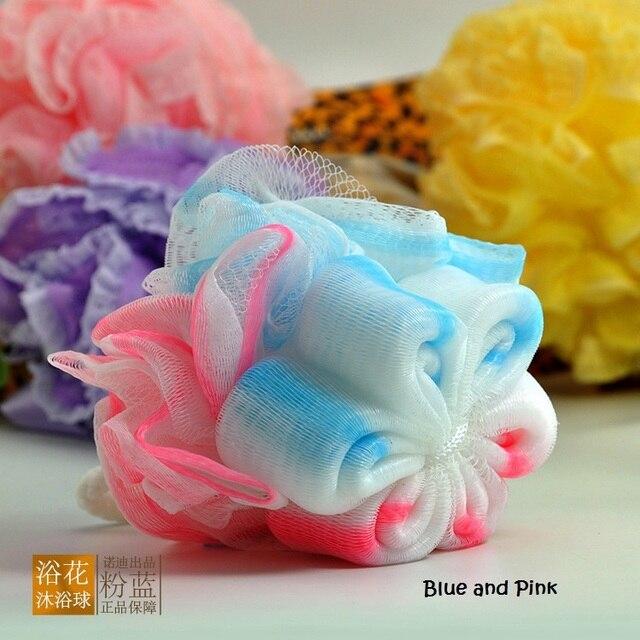 Hot 2pcs/set Bath Brush ball Loofah Sponge Soft mesh Milk shower ...