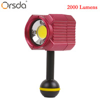 Orsda Photographic Lighting IPX8 Waterproof Camera LED Photo Video Fill Light Lamp 60M Underwater Diving Photography Lighting