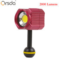 Orsda Photography Lighting IPX8 Original Gopro Accessories 7 6 5 Waterproof Camera LED Photo Video Fill Light 60M Underwater