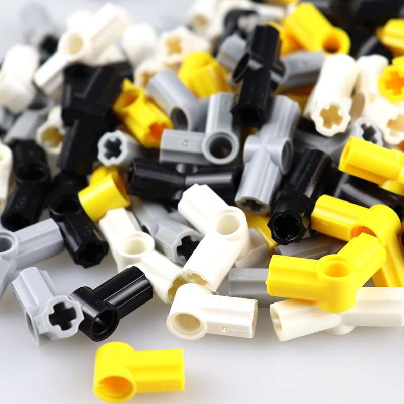 100pcss/lot Angel Elements Technic Parts 0 Degrees 90 112 180 Cross Axle Connection Building Blocks Toys