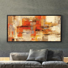 Hand painted canvas oil paintings Modern Home Decoration Art Painting Wall Picture Abstract 6 color