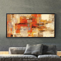 Hand painted canvas oil paintings Abstract Modern Home Decoration Painting Wall Art Picture for living room Ornaments Painting