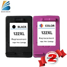 Cartucho de tinta Para HP122XL 2PK para HP 122XL Negro y 122 Tri color cartucho de tinta Deskjet 1000 1050 2000 2050 3000 3050A 3052A