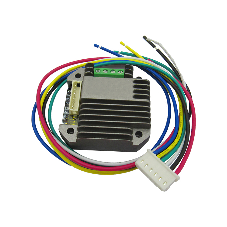 7TPSM4220 micro stepping motor drive module, voltage, 24V current, 0~2A, subdivision, 32 in one machine power amplifier high voltage high current opa544 module 68v peak 2a current motor drive