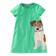 Baby Girl Dress with Animals
