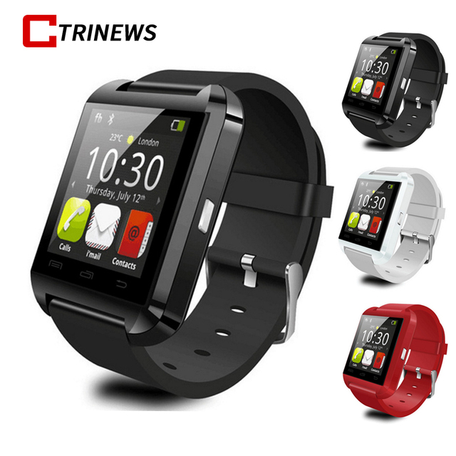 4d4d133e1 CTRINEWS Bluetooth Smart Watch U8 smartwatch Sport Watch with Pedometer  Message SMS Sync Call Reminder Remote For IOS Android