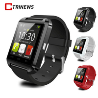 CTRINEWS Bluetooth Smart Watch U8 Smartwatch Sport Watch With Pedometer Message SMS Sync Call Reminder Remote