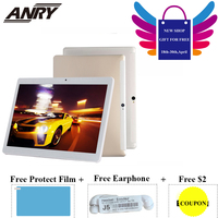 ANRY Android 7.0 Children's tablet 4G LTE Phone Call Tablet 4 GB RAM 64GB ROM 10 Inch Wifi Bluetooth GPS Tab for Kids Gift