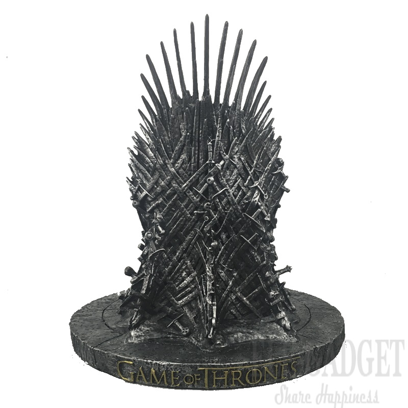 Dropshipping New The Iron Throne Game Of Thrones Action Figure Toys Resin Desk Decor Gift For Children Home Decor 17cm game of thrones action figure toys sword chair model toy song of ice and fire the iron throne desk christmas gift