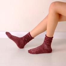 Женские носки Glitter Long Socks Women