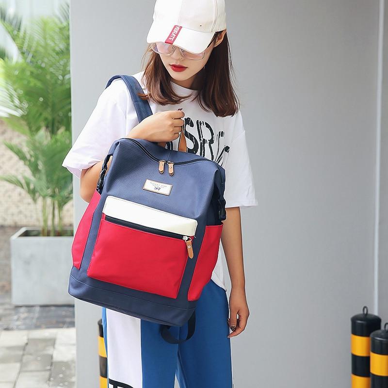 Fashion Backpack New Women Backpack Female Shoulder Bag Teenager Girl Mochila Backpack Female Bagpack Pack Design 2019 #3