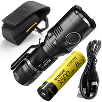 Discount NITECORE MH20 1000Lumen CREE XML2 U2 LED Rechargeable Mini Flashlight Waterproof Torch with 18650 Battery Free Shipping