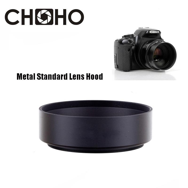 NA 40.5 mm Black Aluminum Screw on Standard Lens Hood Cover