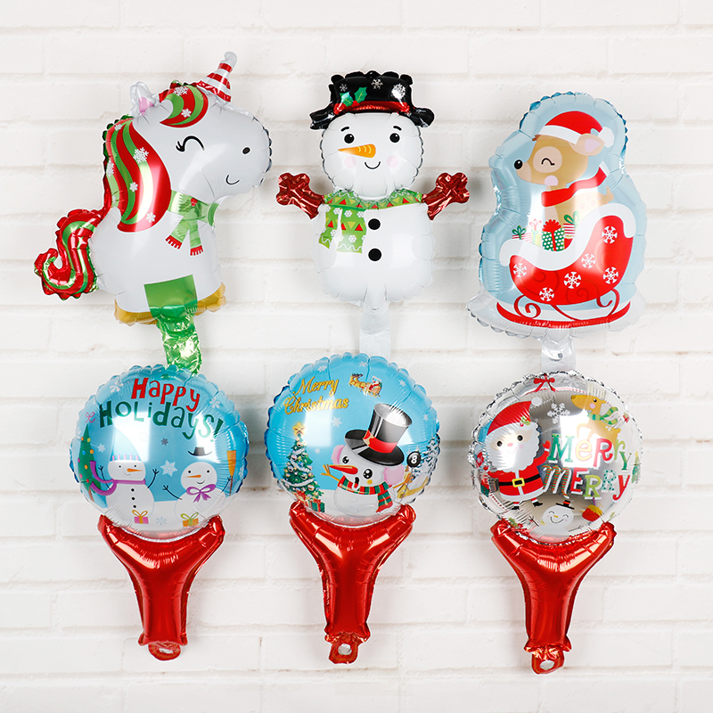 Xmas Lights And Erina Party Shop: Christmas Decorations For Home Foil Balloons 6pcs/lot