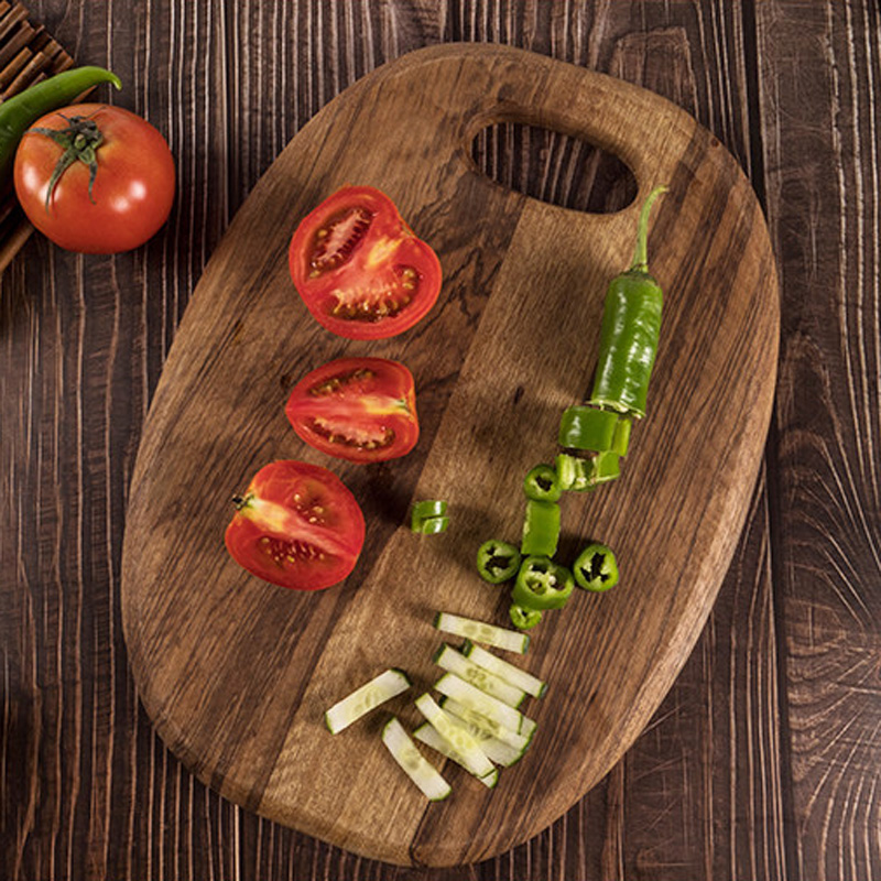 1Pc Kitchen Cutting Board Wood Chopping Blocks Food Serving Plate Wooden Sushi Pizza Bread Tray Wood Cutting Board Kitchen Tools (9)