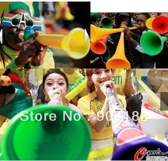 free shippng brand new South African cup Vuvuzela Large horn fans horn loudspeakers wholesale 100pcs/lots