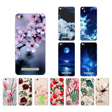 CROWNPRO For Xiaomi Redmi 4A Case Silicone Soft Case For Xiaomi Redmi 4 A Painting TPU Back Cover For Xiaomi Redmi4A Phone Cases