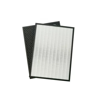 390x285mm Air purification filter HEPA in addition for Sharp FU A80A FU A80A W Air purifier