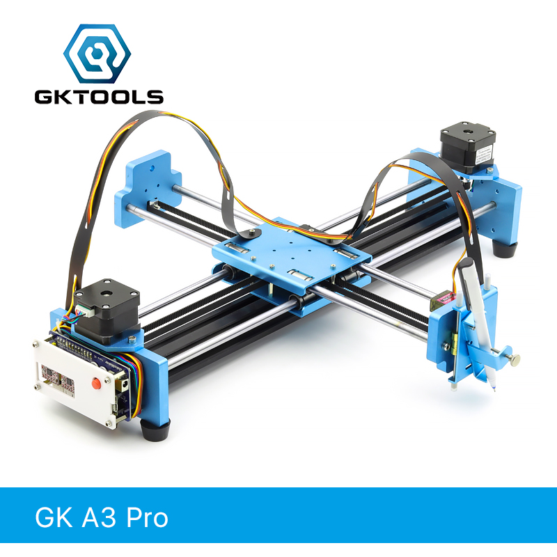 GK A3 Pro DIY All Metal Drawbot Stylo Dessin Machine Lettrage Robot Corexy XY-traceur CNC Tirage Robot Kit l'écriture Robot Jouets