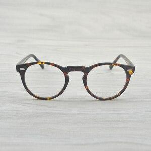 Image 2 - チャシュマヴィンテージ光学ガラスフレームアセテート OV5186 眼鏡オリバー老眼鏡女性と男性の眼鏡フレーム