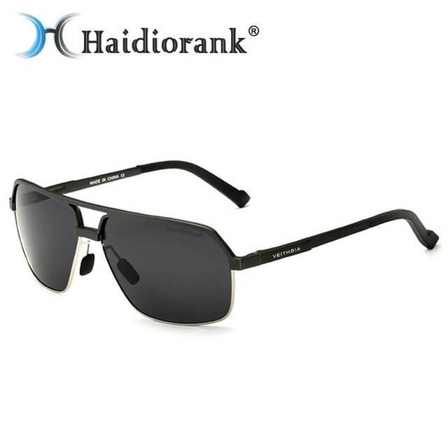 6fa33e5fb5c9 Polarized Sun Glasses For Winter Fishing 2017 Outdoor Aviator Driving  Sunglasses Men Polaroid Polarizing Men s Glasses