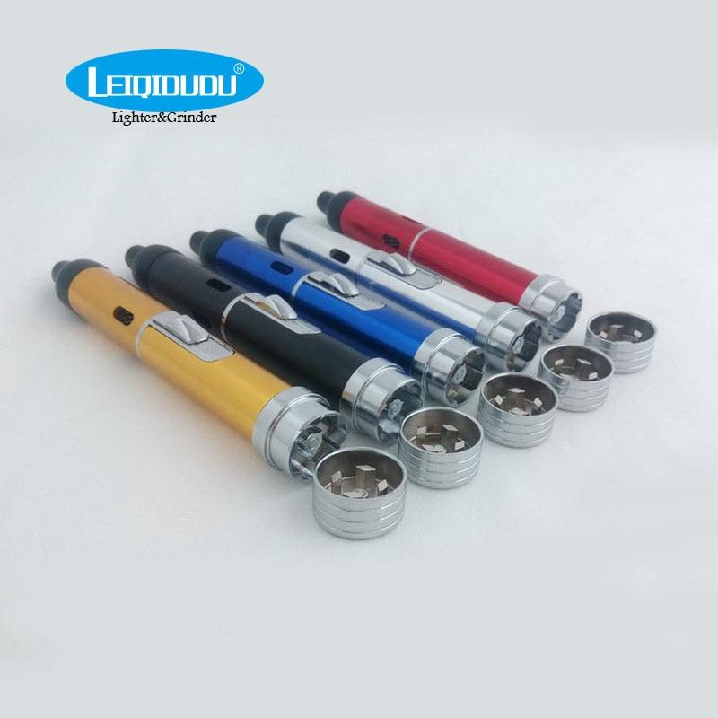 Leiqidudu Light Grind Vaperizer Dry Herb Vape Pen Smoking Pipe E font b Cigarette b font
