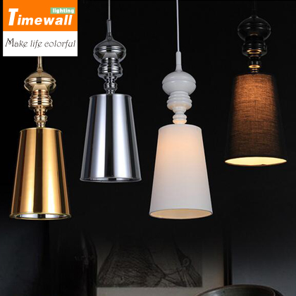 KM Modern Brief Pendant Lamps Dining Room Pendant Lights  /Black /Golden /Silver Spain Jaime Hayon Design Metalarte Josephine modern lamps pendant lights josephine lamp led dining room restaurant indoor lighting jaime hayon classic design