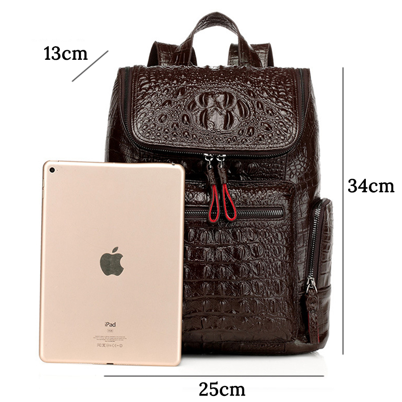 Women Genuine Leather Backpack Vintage Female Cowhide Backpack High Quality School Bags for Women's Casual Backpacks for Girls