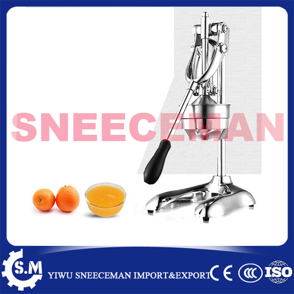 Machine manuelle dextracteur de jus de mangue de raisin Orange de machine de jus de jus de jus dacier inoxydable 304Machine manuelle dextracteur de jus de mangue de raisin Orange de machine de jus de jus de jus dacier inoxydable 304
