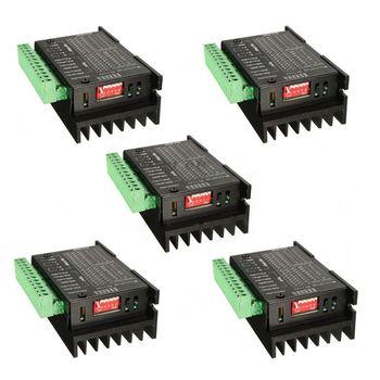 5 PCS 4A CNC Único Axis TB6600 Stepper Motor Drivers Controlador