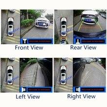 Weivisin 360 вид птица Видеорегистраторы для автомобилей запись Мониторы Системы, Круглый заднего вида Камера для BMW X3 X4 X5, подарок 16 ГБ usb диск