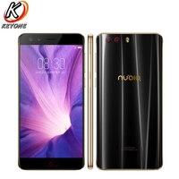 Оригинальный новый для ZTE Nubia Z17 Mini S мобильный телефон 5,2 6G RAM 64G ROM Snapdragon 653 Octa Core Dual Передняя Настоящее Камера NFC телефон