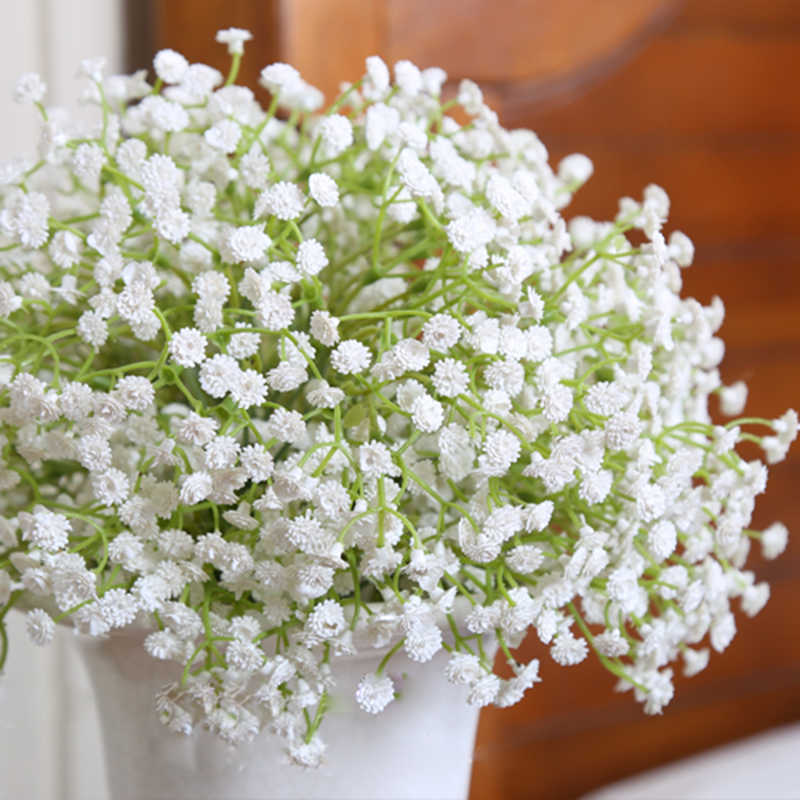 High Quality Starry Plastic flower Artificial Flower Partner Mantianxing Wedding Decoration Bride Bouquet Flowers Gift 1PC