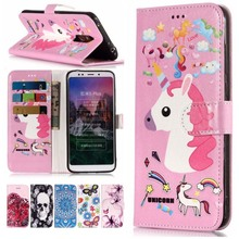 Fashion Wallet Stand Case For Xiaomi Redmi 5A 4X Note5 Pro Leather Flip Cover Flower Dog Marble Butterfly Phone Coque P01Z