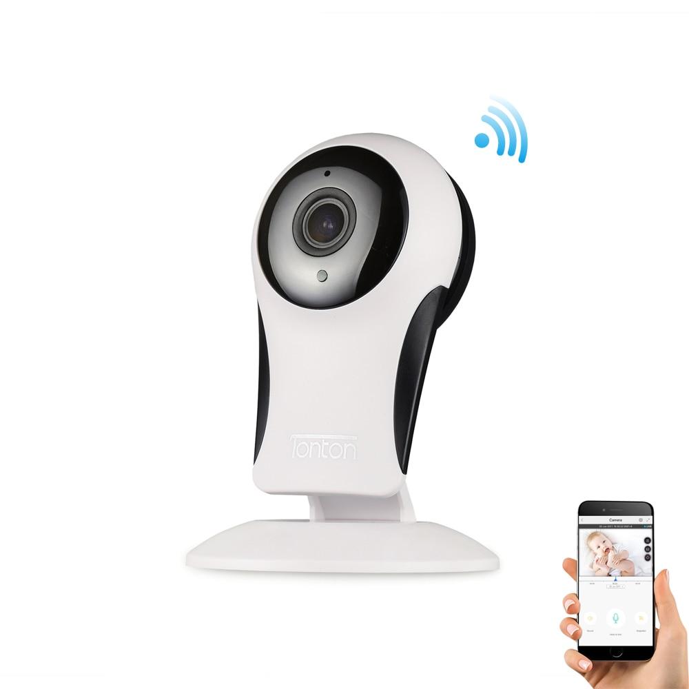 Tonton 1080P HD font b Wireless b font IP mini Nanny Baby Monitor Wifi Camera 2