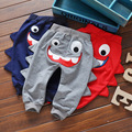 New hot sale of high-quality children's clothing boys and girls 100% cotton slacks trousers cute baby