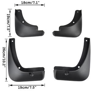 Image 2 - 4Pcs Set Mudflaps For Kia Stonic 2017 2018 2019 Mudguards Mud Flap Flaps Splash Guards Guard Fender Car Accessories