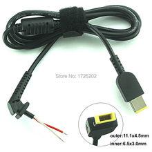 Dc dica Plug conector do cabo cabo adaptador de carregador For Lenovo IdeaPad Yoga