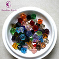 AAA 5301 100Pcs/Lot 10mm Bicone Faceted Glass Crystal Spacer Beads For Jewelry Making 30Colors In Total Free Shipping SQAAA1-10