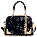 Fashion women messenger bags leopard sequins handbags European and American Style shoulder bag for ladies #W-30