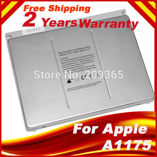 "Laptop batterij Voor Apple MacBook Pro 15 ""A1150 A1260 MA463 A1226 A1211 MA601 MA600 MA609 MA610 MA348G / A MA348J / A A1175 MA348"
