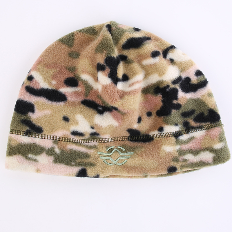 56-60 см уличная тренировочная камуфляжная Тепловая ветрозащитная флисовая шапка мужская зимняя велосипедная походная охотничья Толстая теплая армейская тактическая шапка