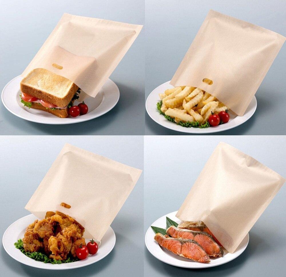 Non stick toast bags
