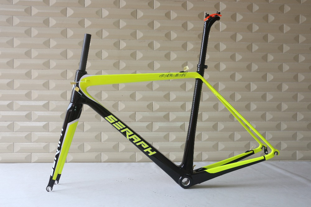 SERAPH Wonderful Products,Chinese Factory road carbon frame,Carbon Fiber road bike Frame,T1000 Bicycle Carbon Frame FM686