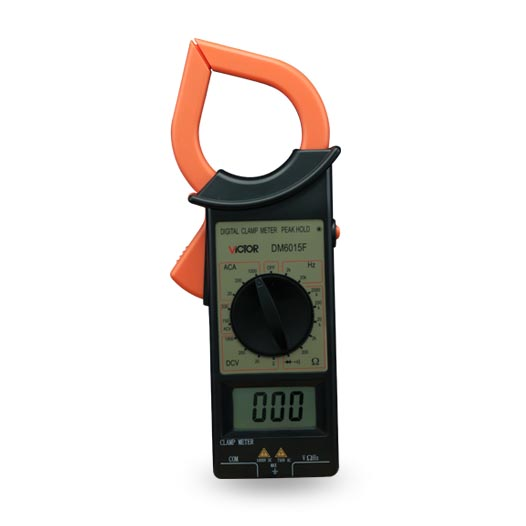 Victory clamp meter DM6015F digital clamp meter can measure resistance / frequency v9 car radar detector