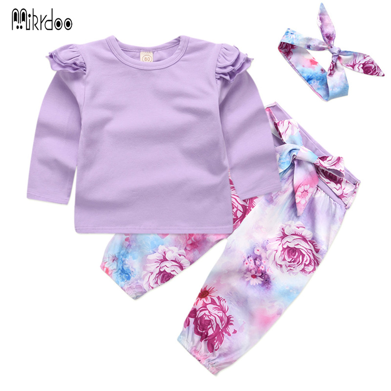 Baby Girls Clothes Children Clothing Sets 2018 Brand Kids Tracksuits for Girls Sets Animal Pattern Baby Girl School Outfits girls clothes children clothing 2017 brand girl clothing sets roupas infantis animal casual kids clothes