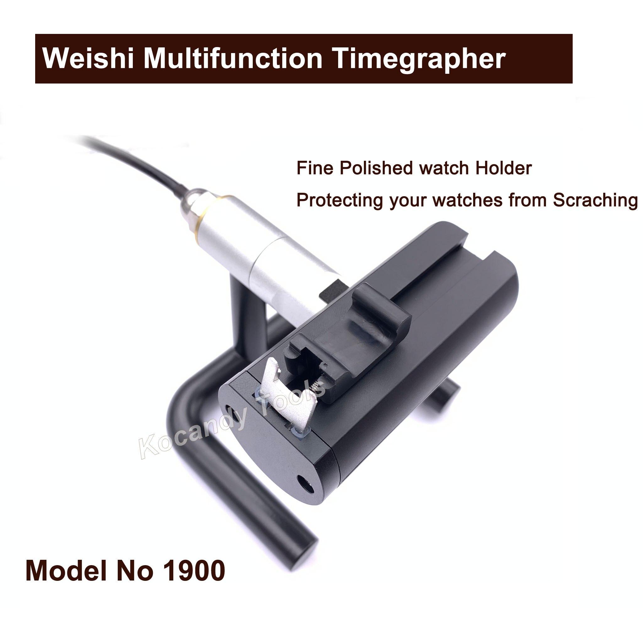 Weishi 1900 Multifunction Timegrapher, Professional Watch Timing 기계 Multifunction Timegrapher 대 한 시계 제조 Repair 툴-에서수리 도구 & 키트부터 시계 의  그룹 3