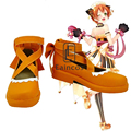 Anime Love Live! Valentine's Day Hoshizora Rin Maid Cosplay Party Shoes Custom Made