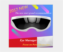 Hot!!Rechargeable Electric Air Pressure Eye Massager Electric Eye Nurse Vibration Magnetic Therapy Massage Device Usb Glasses